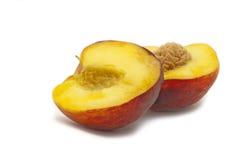 半的appricot 库存图片