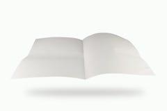 半纸的折痕 库存图片