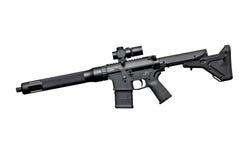 攻击半自动步枪 免版税库存照片