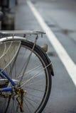 半自行车车轮 免版税库存图片