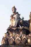 半野兽和天使 免版税图库摄影