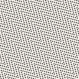 半音锋利线马赛克不尽的时髦的纹理 黑色模式无缝的向量白色 库存例证