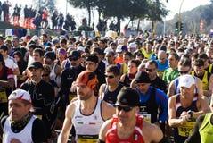 2015半马拉松在罗马 免版税库存图片