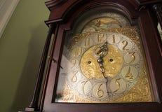 华丽古色古香的时钟 免版税库存图片