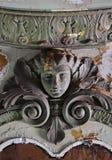 华丽天花板在密执安剧院,底特律 免版税库存照片