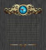 华丽指南针的框架 库存照片