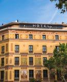 华丽旅馆在巴塞罗那 库存图片
