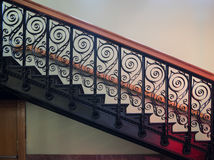 华丽楼梯 库存图片