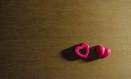 华伦泰可爱的巧克力 免版税库存照片
