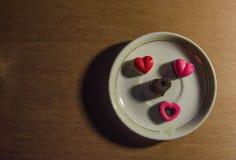 华伦泰可爱的Chocolate_No 7 库存图片