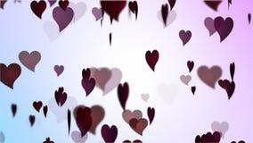 华伦泰的五颜六色的心脏 股票录像