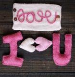 华伦泰背景,心脏,情人节,礼物,手工制造 免版税库存照片
