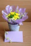 华伦泰,母亲节,复活节卡片材料的照片 库存照片