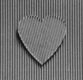 华伦泰-心脏标志 免版税图库摄影