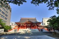 华园寺庙,新宿,东京,日本 库存图片