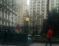 华尔街的公墓 免版税图库摄影