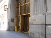 14华尔街,纽约 库存照片