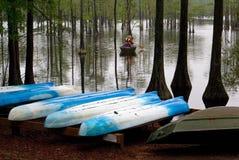 华森乔治的L史密斯国家公园磨房池塘在乔治亚 库存照片