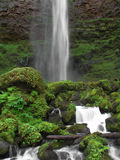 华森瀑布 库存图片