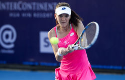 华欣泰国12月31日:没有的世界 5网球员Aginieszka Radwanska 库存图片