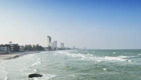 华欣海滩 库存照片