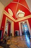 华沙、文化和科学宫殿 图库摄影