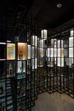 华沙伏特加酒博物馆 库存照片