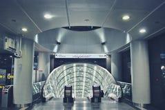 华沙地铁系统第二条线  免版税库存照片
