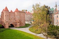 华沙外堡 库存图片