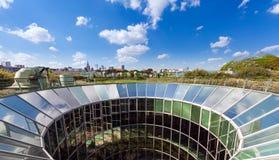 华沙大学的图书馆 免版税库存照片