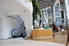 华沙尖顶 编译的现代办公室 免版税库存照片