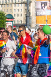华沙平等游行2017年 免版税库存图片