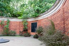 华沙战争公墓在波兰 库存图片