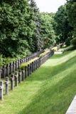 华沙战争公墓在波兰 图库摄影