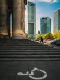 华沙摩天大楼 图库摄影