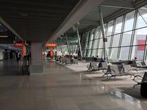 华沙机场 免版税库存图片