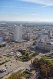 华沙波兰地平线  图库摄影