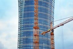 华沙波兰, 2016年5月16日 大厦一代公园 图库摄影