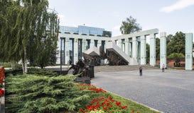 1944年华沙的战争纪念建筑造反波兰欧洲 免版税库存图片