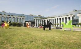 1944年华沙的战争纪念建筑造反波兰欧洲 库存图片