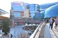 华沙街市全景视图 免版税图库摄影