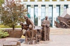 华沙起义的博物馆 免版税库存图片