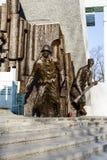 1944年华沙起义的英雄 库存图片