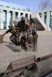 华沙起义纪念碑 库存图片