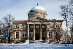 华沙,兔子议院Krolikarnia宫殿 库存图片