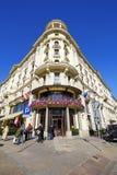 华沙,旅馆布里斯托尔 库存图片