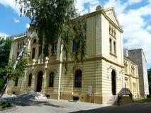华沙,波兰老犹太教堂 免版税图库摄影