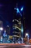 华沙,波兰- 2016年3月28日:回旋曲1办公楼,高度192 m 库存照片
