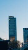 华沙,波兰- 9月02 :洲际的旅馆在华沙 免版税图库摄影