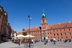 华沙 皇家的城堡 免版税库存照片